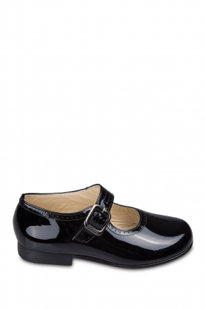 27098 Chiquitin Kids Shoes 30-37 Black