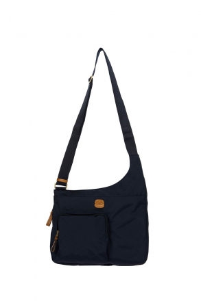 2732 Bric's X-Bag Post Officer Bag 32x28x8 cm Blue