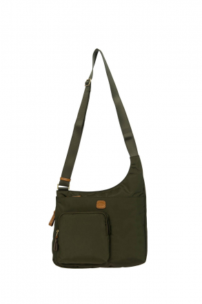 2732 Bric's X-Bag Post Officer Bag 32x28x8 cm Green