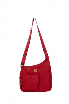 2732 Bric's X-Bag Post Officer Bag 32x28x8 cm Red