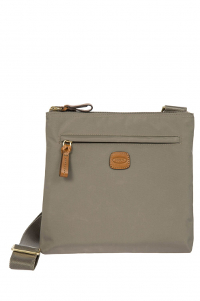 2733 Bric's X-Bag Shoulder Bag 27x25x4 cm Grey