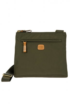 2733 Bric's X-Bag Shoulder Bag 27x25x4 cm Green