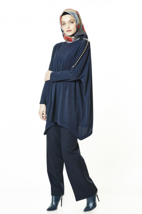 Armine Women Blouse - 8k3518 Blue