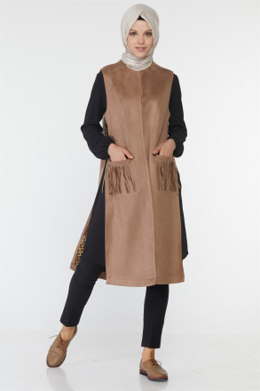Armine Women Dress 8k4510 Beige