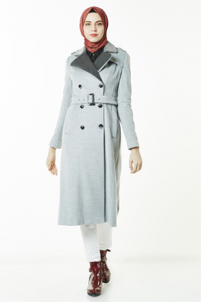 Armine Women's Coat - 8k7660 Grey