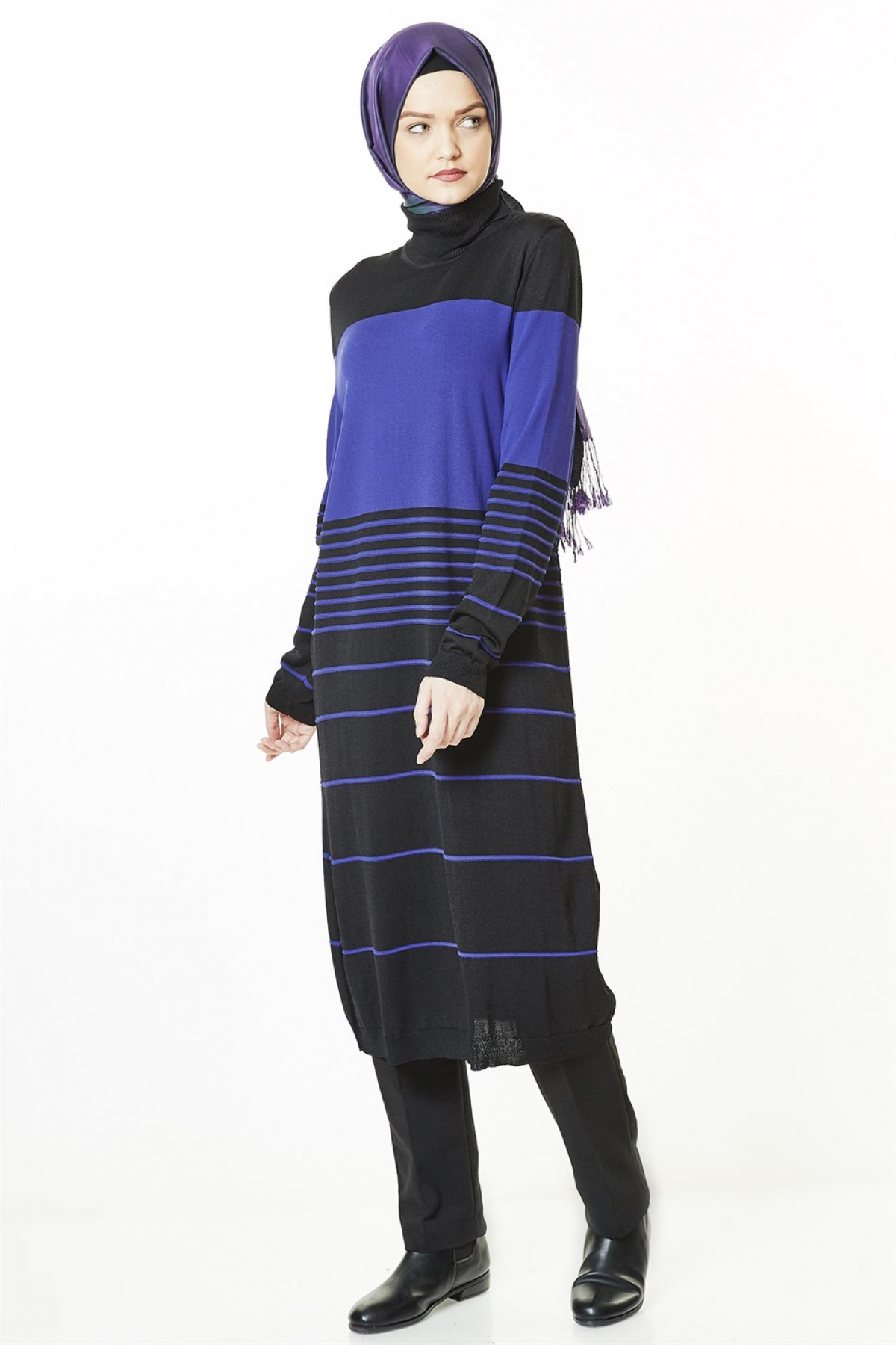 Armine Women Tunic - 8kd1154  Blue
