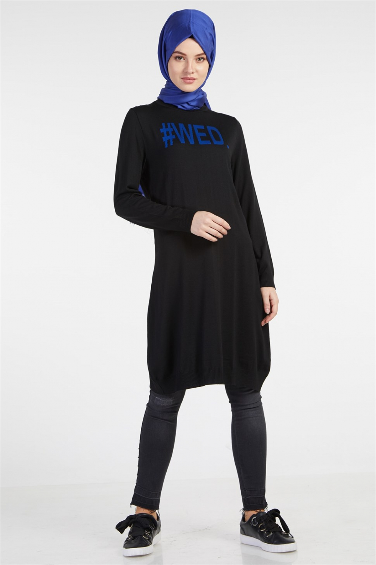 Armine Women Tunic - 8kd1186  Blue
