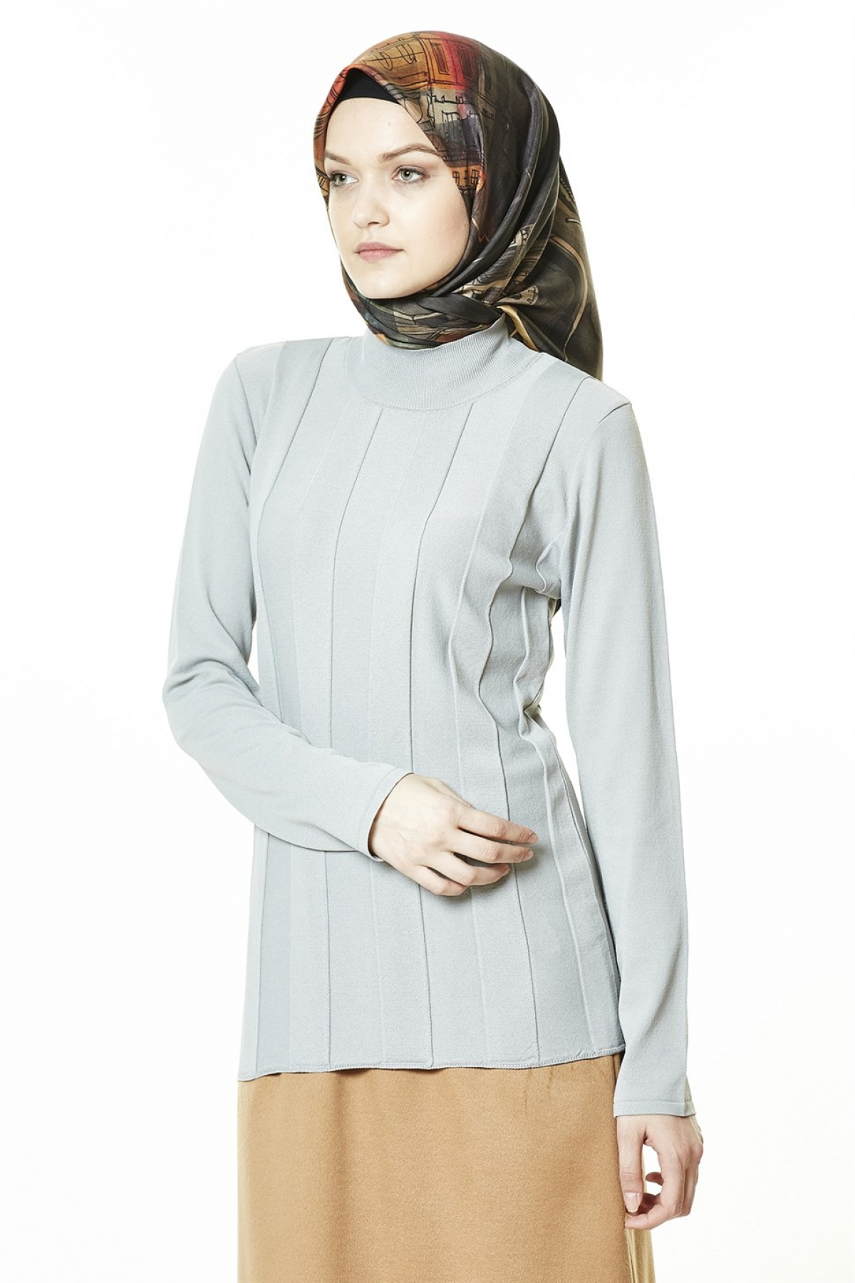 Armine Women Sweater  8kd2015  Grey