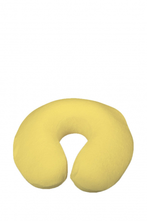Memory Travel Pillow - Visco Yellow