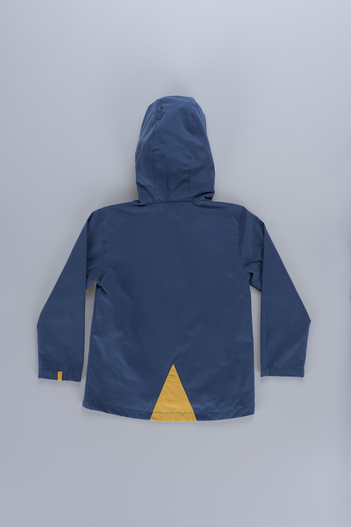 Hooded Boy (6-10 Years) Raincoat 19206 Blue