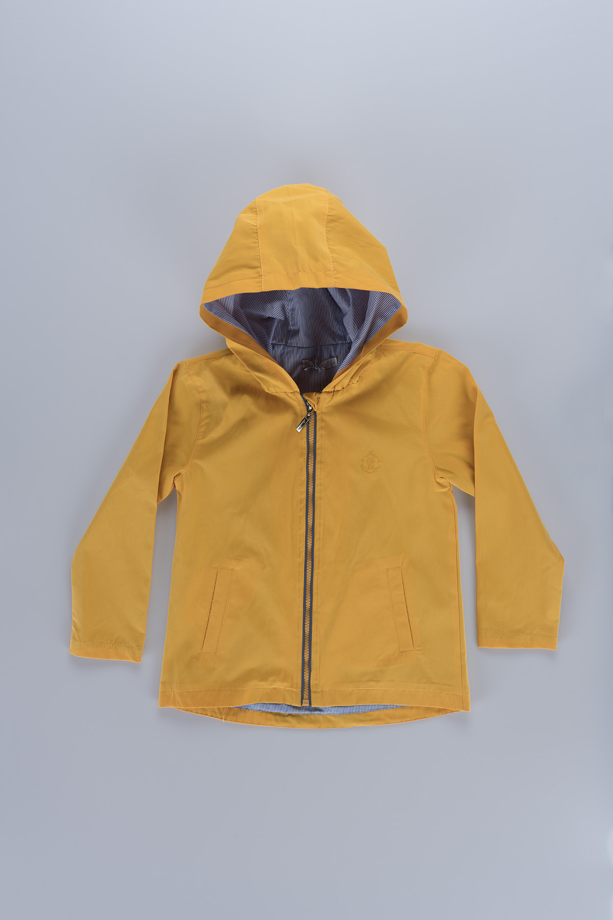 Hooded Boy (6-10 Years) Raincoat 19206 Yellow