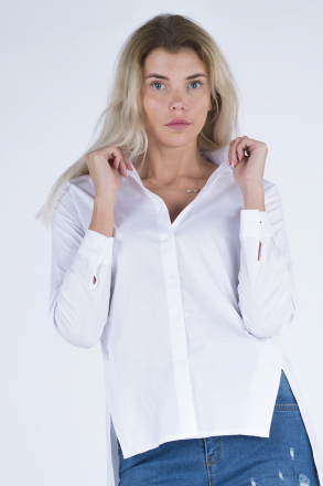 Side Snap Women Shirt 4406