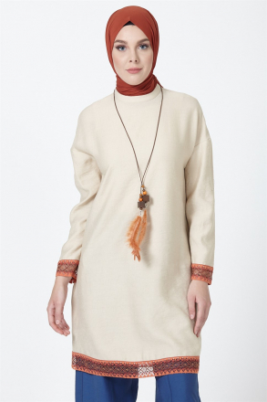 Armine Guipure Detailed Women's Tunic - 9Y4828