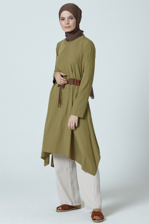 Armine Women's Tunic With a Belt Accessory - 9Y4797