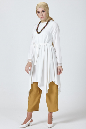 Armine Women Tunic With a Necklace - 9Y4805