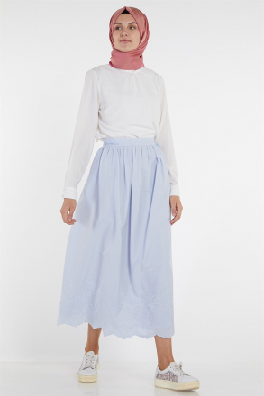 Armine Embroidery Detailed Women Skirt 9Y1749