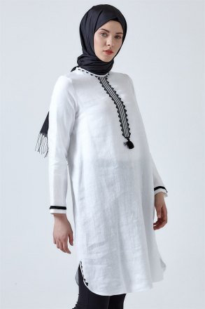 Armine Embroidery Detailed Women's Tunic 9Y4738