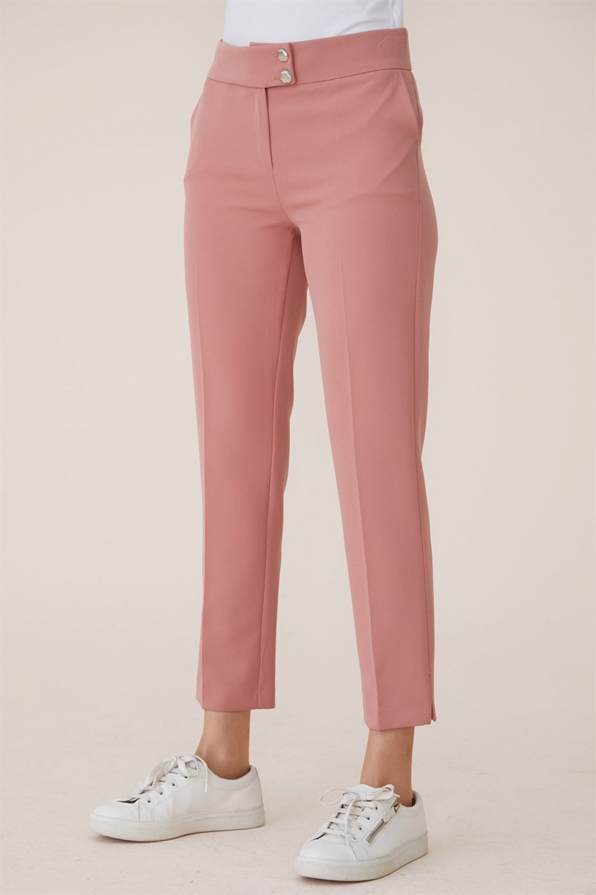 Armine Ankle Length Women's Pants 9Y3020 Pink