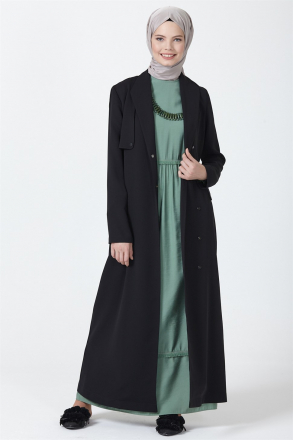 Armine Women's Topcoat With a Belt - 9Y8721
