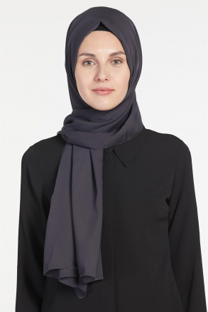 Armine Chiffon Women's Shawl Black