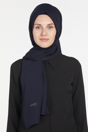 Armine Chiffon Women's Shawl Blue