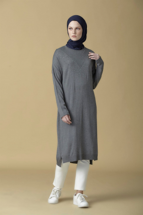Armine Knitwear Women's Tunic -  9K2017 Black