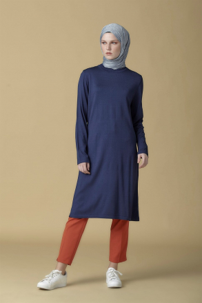Armine knitwear Women Tunic - 9K2008 Blue