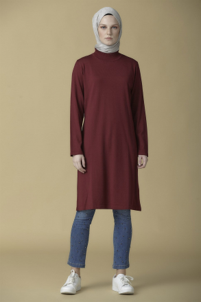 Armine knitwear Women Tunic - 9K2008 Purpule