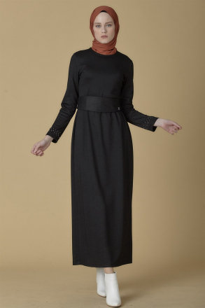 Armine Staple Detail Women's Dress 9K9815