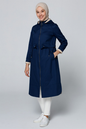 Armine Hoodied Cape - 20Y7106