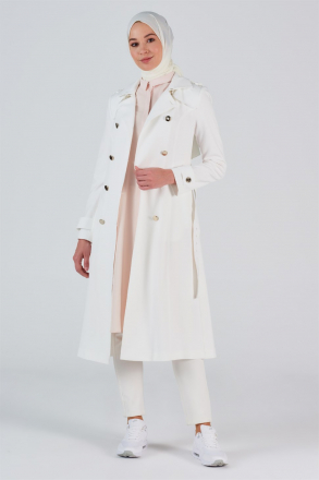 Armine Women's Trench Coat (Manto) - 20Y7108