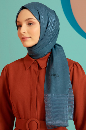 Armine Women Shawl - S00OA0444027 Blue