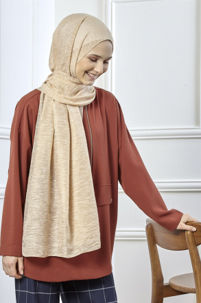 Armine Trend Silvery Buse Shawl Gold