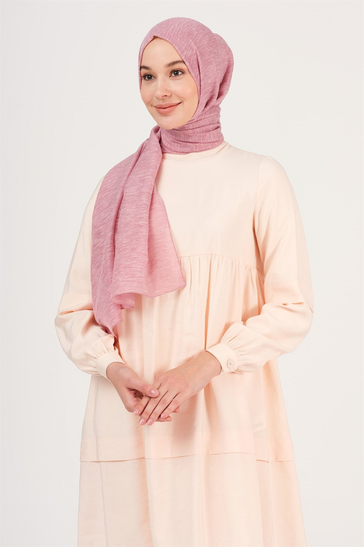 Armine Trend Silvery Buse Shawl Pink