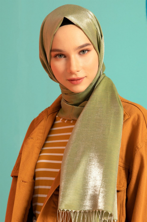 Armine Women Shawl S00OA0444059 Green