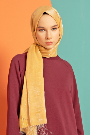 Armine Women Shawl S00OA0444059 Gold